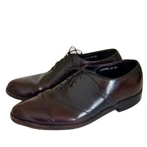 Florsheim Dress Shoes Saddle Oxfords Burgundy 11